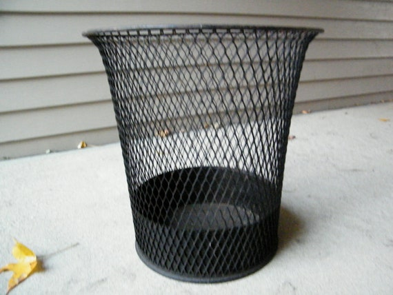 Wire Waste Basket New With Wire Mesh Baskets Industrial Images