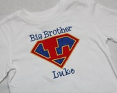 Big Brother Shirt - Super Hero