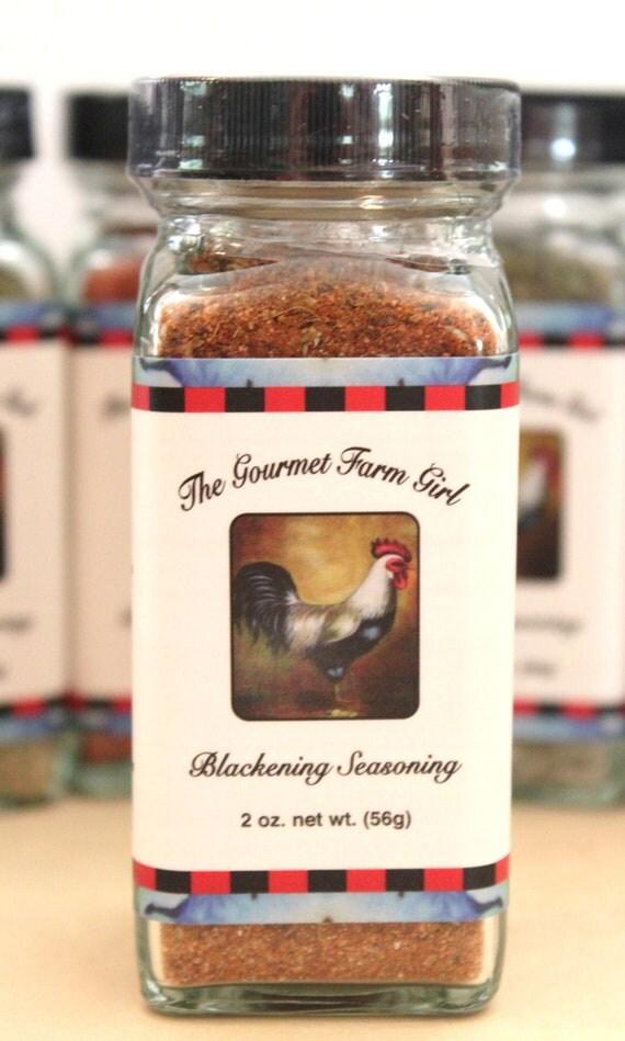 Blackening seasoning by thegourmetfarmgirl on etsy for Blackening seasoning for fish