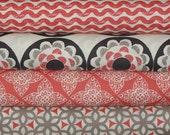 Ty Pennington Fabric Bundle, Impressions in Spice, Full Yard Bundle, 4 Yards Total