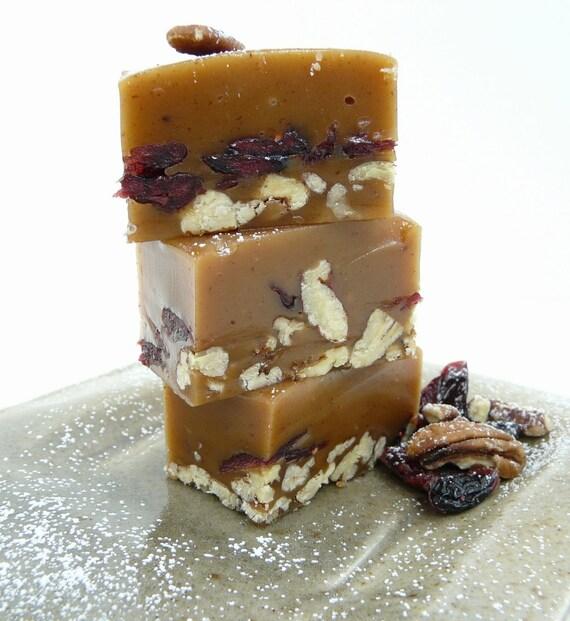 Pecan Pie Caramel - handmade candy - yum