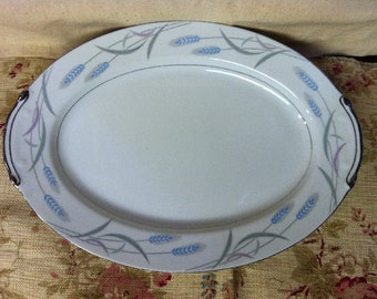 Valmont China Royal  Wheat Platter UNDER 20