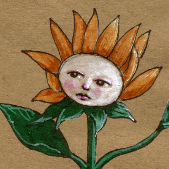 Face To The Sun -- signed original artwork