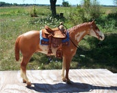 Breyer Horse Saddle Set Traditional Western Custom Model Horse Set