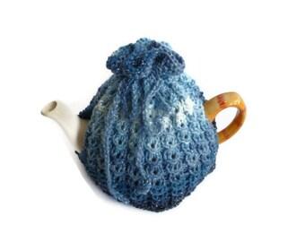 tea cosy cosie cozy blue  uk seller