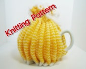 Knitted Tie Top Tea Cosy KNITTING PATTERN