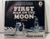 First Words Spoken on the Moon 45 RPM Record
