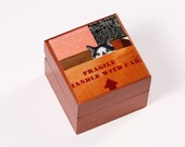Wooden Keepsake Box, Cat Art, Best Friend Gift, Friendship Gift, Unique Friendship Gifts, Cat Lover, Deborah Julian