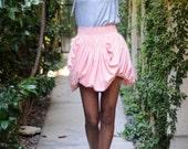 Women's Bubble Style Flutter Skirt