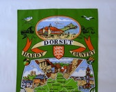 Vintage Dorset Collectible Tea Towel