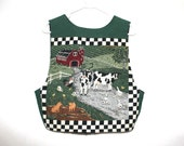 60% OFF Kitsch 90s Fun On The Farm Vest