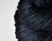 A dark storm is coming  - Silk Fingering Yarn