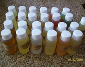 FREE SHIPPING Lot of 24 Candle/Tarts/Soaps Fragrance Oils (1 Ounce Each) (You pick from list below)