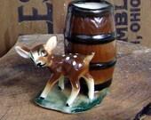 Adorable baby deer toothpick holder