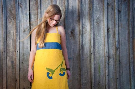 Hemp dress Organic Cotton Festival Rhythm Dress