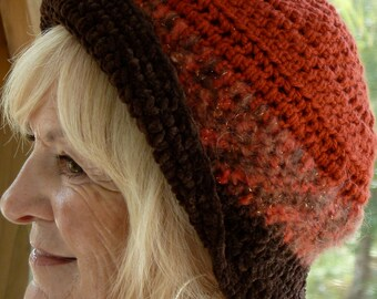 Women's Fashion / Women's Crochet Hat / Women's Winter Hat / Bohemian Clothing / Ski Accessories
