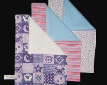 Burp Cloth Trio - Boy