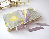 Jewelry Roll - Optic Blossom Linen - Gift for Her