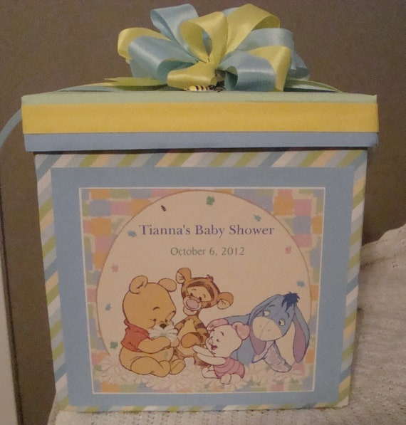 custom wedding or baby shower card boxes
