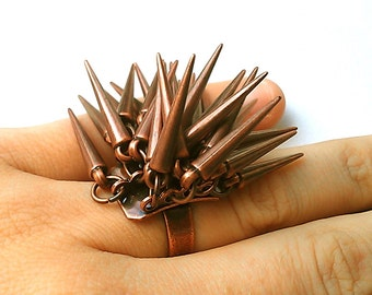 PENELOPE Porcupine Statement Ring