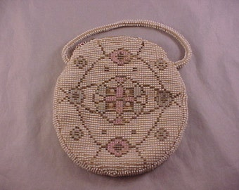 Beaded Purse Made In Czechoslovakia