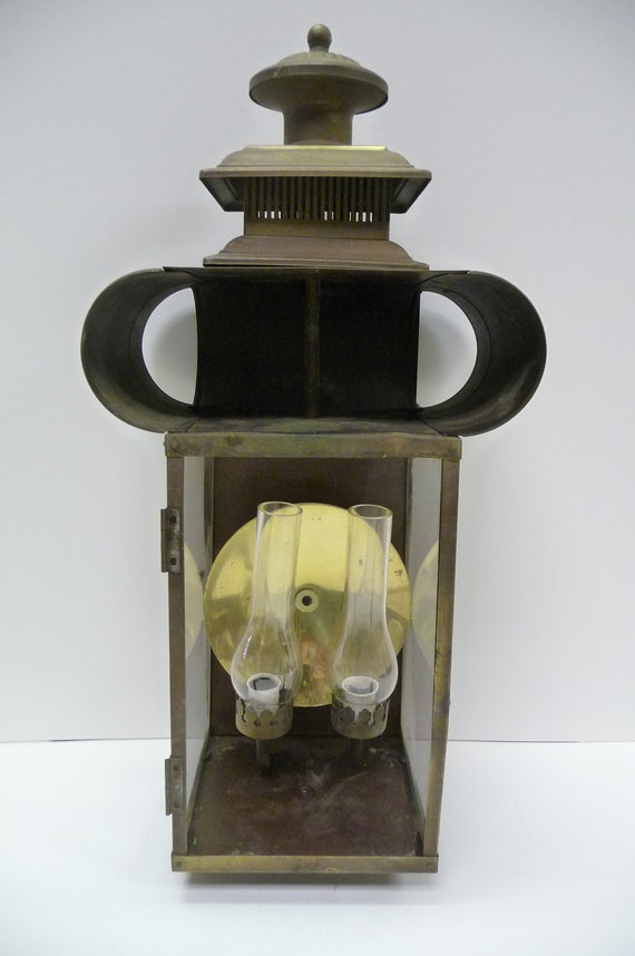 Vintage Moe Light Fixture Electric Wall Sconce Architectural