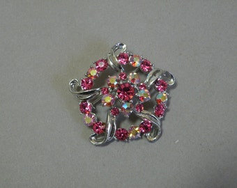 Rose Star Brooch