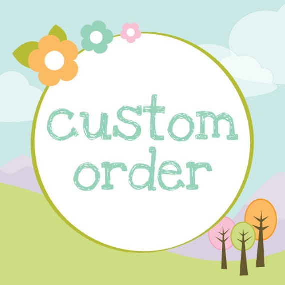 Custom Wholesale Order for Emily