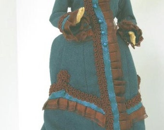 Fall Victorian Walking Dress for Barbie