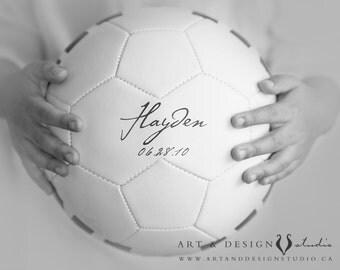 Sports Decor Wall Art, Soccer Ball Decoration, Boys Room Art, Man Cave, Nursery Art, Sports Prints, Personalized Art Print, Soccer Print