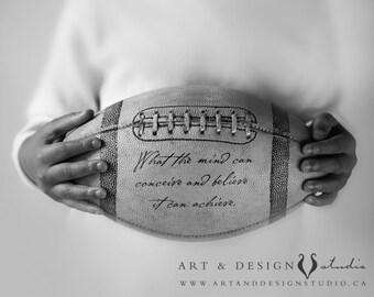 Football Decor, Football Print, Football Poster, Football Art, Football Wall Art, Sports Art, Sports Decor, Gift for Him, Art for Him