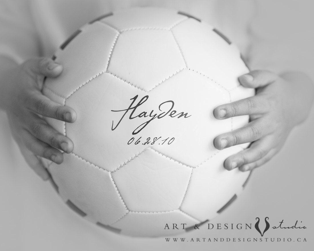 soccer ball wall decor boys room art 8x10 by inspiredartprints. Black Bedroom Furniture Sets. Home Design Ideas