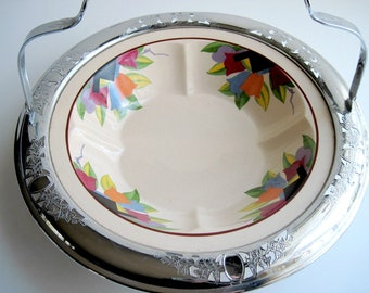 Art Deco, Leigh Potters, Umbertone Bowl, Paris Design