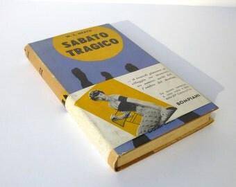 Bruno Munari Graphic Design - Sabato Tragico by W.L. Heath