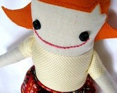 Joyful June - Handmade Doll in Vintage Prints