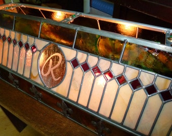 Stained Glass Bar Light