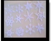 Beautiful Crocheted Snowflakes B5