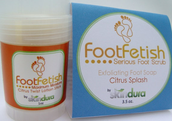 FootFetish Combo Kit    Say Goodbye to Dry Rough Feet