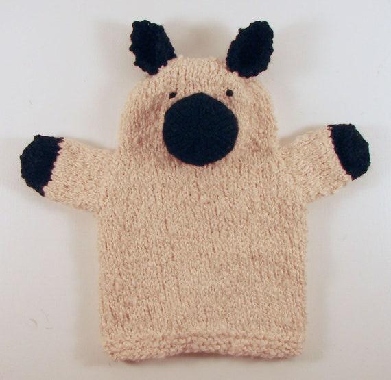 Custom Order: Set of 7 Hand-Knit Hand Puppets