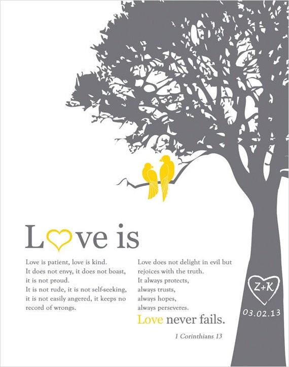Custom Wedding Anniversary Gift, paper anniversary gift ideas, unique wedding gift, Christmas gift for wife love bird themed wedding print
