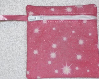 Handmade -  Zippered pouch - Gift Card Holder - FREE shipping