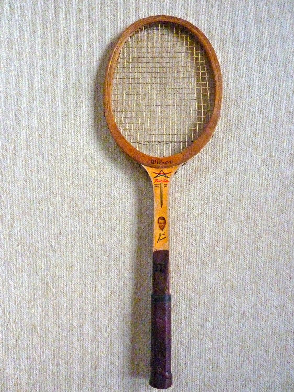 Wood Tennis Racket Jack Kramer Autograph