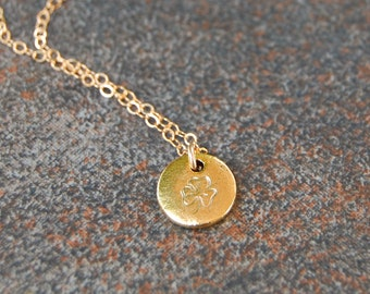 Shamrock Necklace, Clover Necklace, Irish Necklace Necklace, Erin