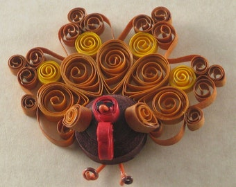 Thanksgiving Turkey Pin