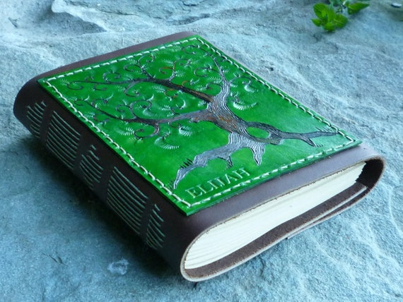 Custom Tree of Life Leather Journal Reserved