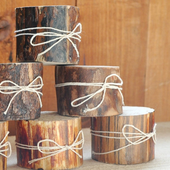 12 LOVELY Wood Place Holders for Wedding Decor, Meetings, Events, Photo Props, Formal Dinners..