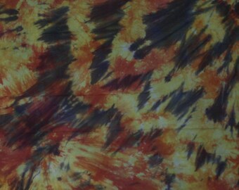 156 - Hand Dyed Cotton Fabric