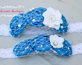 baby headband, newborn headband, Teal Blue Headband, turquoise headband, birthday headband