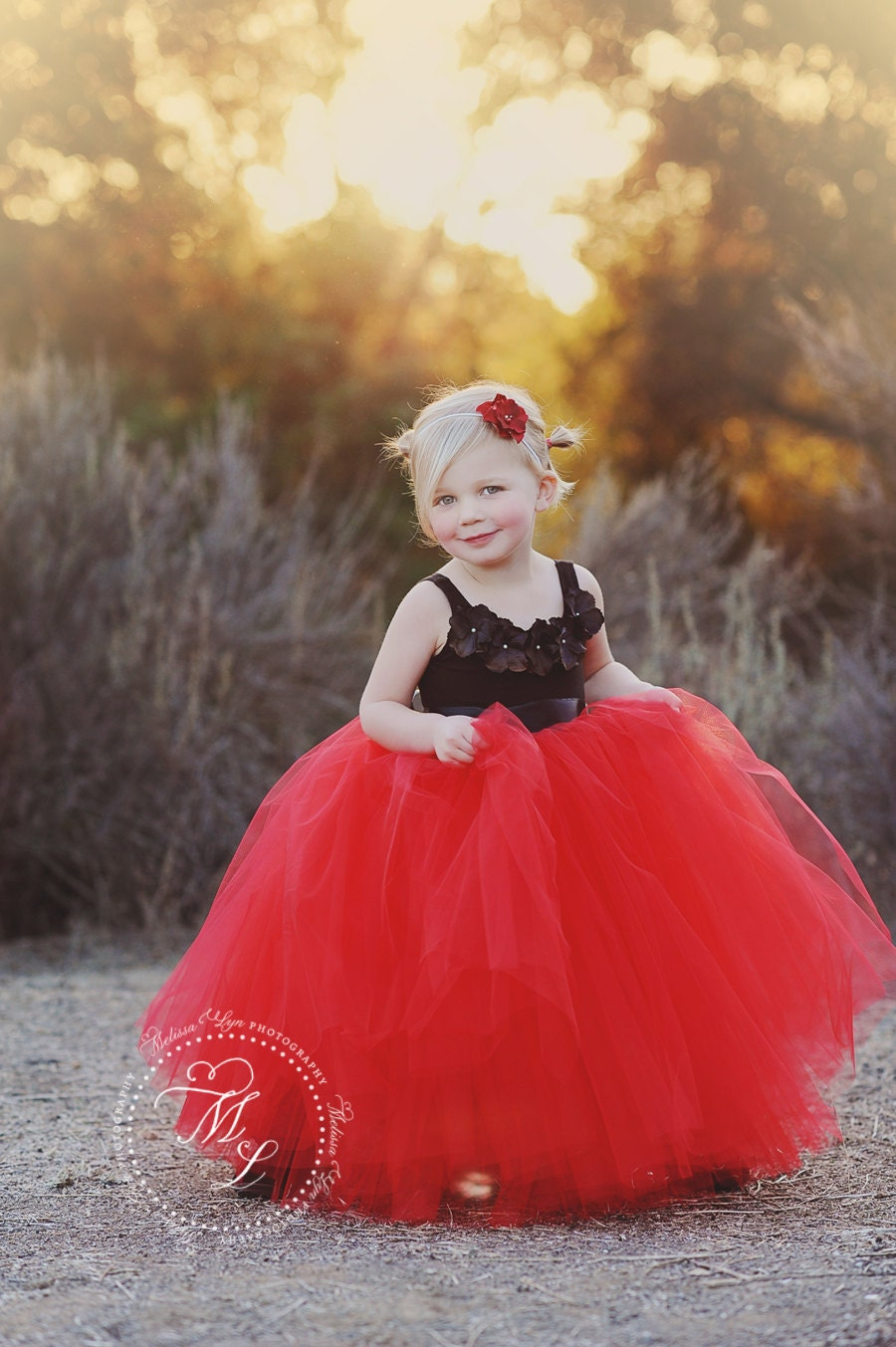 tutu dress red tutu black and red tutu flower girl dress