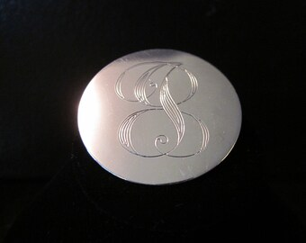 Vintage Sterling Silver JEWELART Brooch